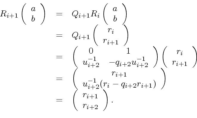 The Extended Euclidean Algorithm